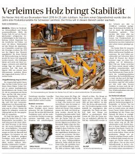 25 Jahre Necker Holz AG